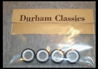 4 HIGH QUALITY WHITEWALL TIRES DURHAM CLASSICS fits Brooklin  other 1/43 scale