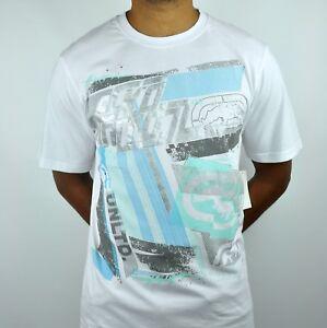 Ecko Unltd Rhino Splash-Back T-Shirt in White