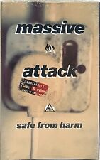 MASSIVE ATTACK - SAFE FROM HARM - NEW SEALED - CASSETTE SINGLE
