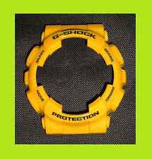 Casio G-shock GA100A-9 Amarillo Bisel Shell Funda GD100 GA110 GD120 escaso