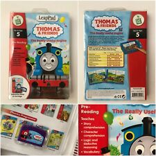 Leapfrog Leappad Interactive Book & Cartridge game Thomas The Tank Up To Age 5