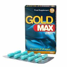 Stimulant Sexuel / Aphrodisiaque pour Hommes GoldMax Blue 10 gélules / GOLD MAX
