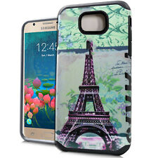 Samsung Galaxy J7 Prime 2016 / On7 2016 - Hybrid Armor Case Paris Eiffel Tower