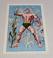 Original 1978 Marvel Comics Sub-Mariner 1 comic book cover art poster: J Buscema