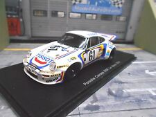 PORSCHE 911 Carrera 3.0 RS Le Mans 1974 #61 Tissot Elford Ball Resin Spark 1:43