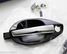 Exterior Chrome Door Handle LH + RH (Fit:Hyundai Tiburon Coupe 2003 - 2008)
