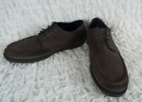 COLE HAAN GRAY LEATHER LACE UP SHOES MEN'S SIZE 12 M