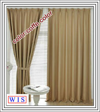 Window Blind Fabric,210g/m2,280cm Wide,48m Long,Coffee Color,Washable-50101