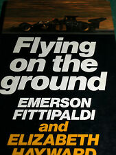 FLYING ON THE GROUND EMERSON FITTIPALDI HAYWARD LOTUS 72 69 56B 72B USA GP 1970