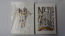SIGNED Neil Young Waging Heavy Peace Signed Book Limited Edition Rare Numbered