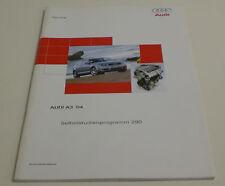 Audi A3 8 P Konstruktion und Funktion Selbststudienprogramm SSP 290 02/2003