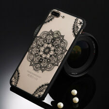 Lace Flower Phone Case Sexy Retro Floral Housing Cover Hard PC+TPU Mobile Iphone