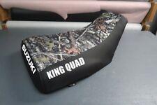 Suzuki King Quad LTF300 1987-98 Camo Top Logo Seat Cover #nw2907mik2906