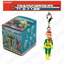 Kidrobot Transformers Vs G.I Joe Vinyl Figure Keychain Series Scarlett 1/24