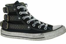Converse Hebilla de edición limitada negro tachonado Zapatillas, Unisex UK 4.5 EU 37