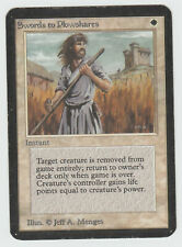 ►Magic-Style◄ MTG - Swords to Plowshares - ALPHA - Played
