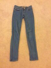 Ladies Size 6 Mid Blue Skinny Jeans