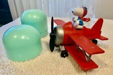 Vintage Snoopy WW I Flying ACE Biplane New In Egg Container