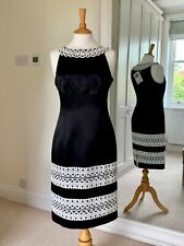 Coast Ellie Dress Mono Black/White Cocktail/Wedding/Party UK10 BNWT