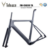 Thru Axle Carbon Fiber Gravel Frame Road Racing Bicycle Frameset OEM Bike Frames
