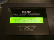"""NEW! Yamaha TX7 YELLOW-GREEN Backlit LCD kit w backlight for """"rack"""" DX7 Synth."""