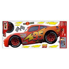 Disney Cars Large Wall Stickers Room Decor Official