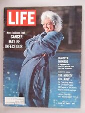 Life Magazine - June 22, 1962 ~~ Marilyn Monroe