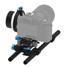 FOTGA DP500III QR A/B Hard Stop Follow Focus+15mm Rod Baseplate DSLR Camera Rig