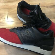 New Balance 670 Made In England SZ11 Norse Projects Red Devil Vintage Shoes Used