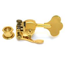 """Hipshot Gold Ultralite Clover 1/2"""" Bass Drop D Machine Head De-tuner X-tender"""
