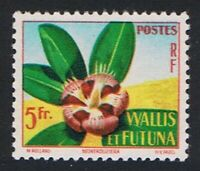 Wallis and Futuna Tropical Flora Montrouziera MNH SG#170 SC#152