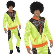 Retro Shell Suit Mens 80s Costume Fancy Dress