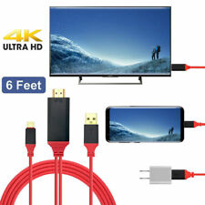 USB 3.1 Type C to HDMI TV HDTV Video Cable for Samsung Galaxy S8 Note 8 MacBook