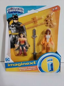 NEW Fisher Price Imaginext DC Super Friends Wonder Woman and the Cheetah