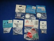 Miniature accessories: ice trays, pans, baskets, etc,1:12 scale, Nib, lot #25