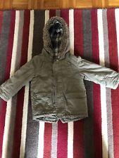 Boys Khaki Parka Coat 18-24 Months.