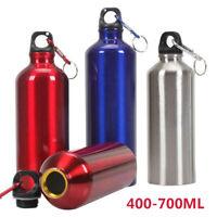 FR Bouteille d'eau 400ml,500ml,600ml Aluminium Bouteilles d'eau de sport+Membre