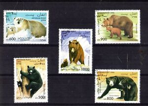1038++AFGHANISKAN   SERIE TIMBRES  OURS  N°1...