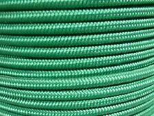 1/4 x 400 ft. V-TF Stiff Braid Polyester Halter Rope. Green. Made in USA.