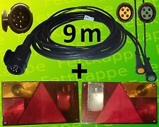 Aspöck Multipoint 1 - Leuchten Set - 13polig - 9 m Kabelbaum mit 2x 0,2 m Abgang