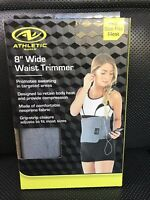 """Athletic Works Waist Trimmer 8"""" Wide One Size Fits Most Waist NEW"""