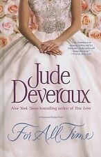 JUDE DEVERAUX - For All Time - Hardcover Large Print (Nantucket Brides)