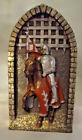 """VINTAGE MARCUS REPLICAS RICHARD NEVILLE EARL OF WARWICK WALL PLAQUE 8 1/2"""" TALL"""