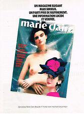 PUBLICITE ADVERTISING 094  1987  MAGAZINE MARIE -CLAIRE