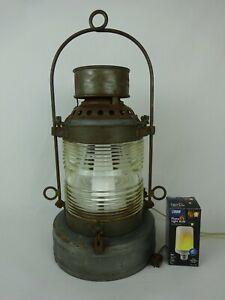 Vtg Mohawk Lantern New York State Canal ~ Dressel ~ Arlington, NJ USA ~ Electric