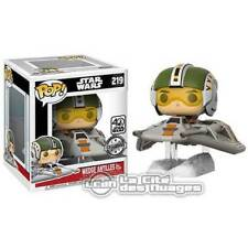 Star Wars Episode VII POP! Rides Wedge Antilles w/ Snow Speeder 15cm n°219 FUNKO