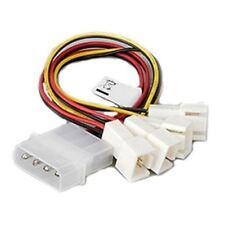 4pin Molex (12 V) to 4x 3pin Molex (12 V) Adapteur Cable