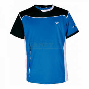 *NEW* VICTOR PerfectDry, Non-Static, Unisex Sports T-Shirt Blue 6774