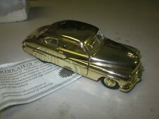Vintage 1 32 Model Motor Museum Gold Plated 49 Mercury Die Cast Mail Order Car
