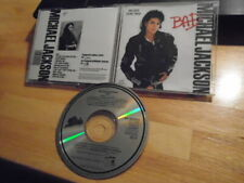 RARE EARLY U.S. JAPAN PRESS Michael Jackson CD Bad EXTRA TRACK Leave Me Alone !